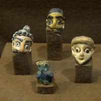 Зал Древнего Египта. Финикийские амулеты.