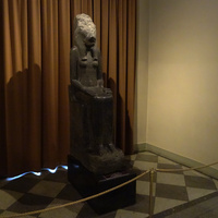 Зал Древнего Египта. Статуя богини Мут-Сохмет.