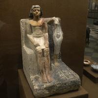 Зал Древнего Египта. Статуя управителя селения.