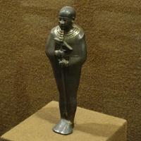 Зал Древнего Египта. Статуэтка бога Птаха.