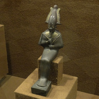 Зал Древнего Египта. Статуэтка богини Сатет.
