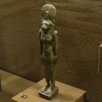 Зал Древнего Египта. Статуэтка богини Сохмет.
