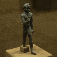 Зал Древнего Египта. Статуэтка эфиопского царя.