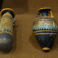 Зал Древнего Египта. Керамические сосуды.