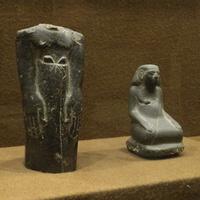 Зал Древнего Египта. Фигурки.