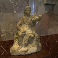 Зал античной декоративной скульптуры. Богиня Рома.