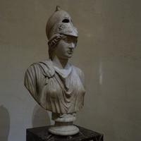 Зал Афины. Бюст Афины.