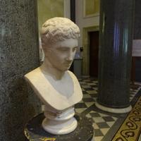 Зал Афины. Голова атлета.