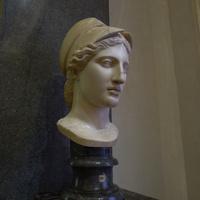 Зал Афины. Голова Афины.
