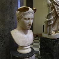 Зал Афины. Голова Гермеса.