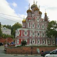 Ул. Рождественская - Богородице-Рождественская (Строгановская) церковь