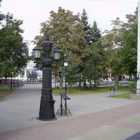 Пл. Маркина - Памятник водоразборной колонке