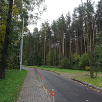 Пешеходно-прогулочная зона.