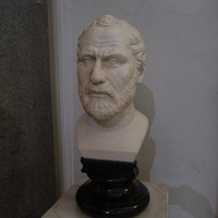 Зал Геракла. Голова Демосфена.