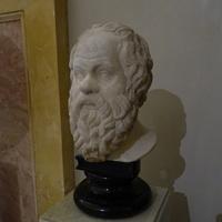 Зал Геракла. Голова Сократа.