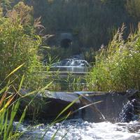 Водопад тоннель