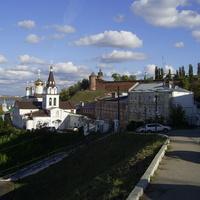 Вид на ул. Ильинскую (дома 6,8,9,10)
