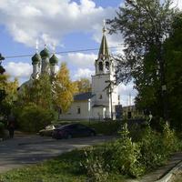 Пер. Крутой - Успенская церковь