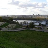 Зона отдыха у Набережной Федоровского