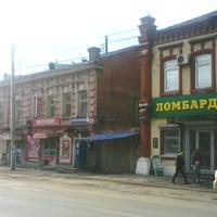 ул. 1905 года. Мотовилиха. Купеческие дома.