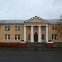 Площадь Ленина. Здание Министерства культуры Карелии.