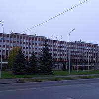 Проспект Ленина. Здание Горсовета.