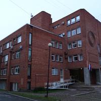 Проспект Ленина. Здание Министерства здравоохранения и Министерства соцзащиты.