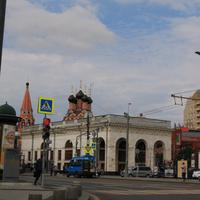 Таганская площадь, метро Таганская, церковь Святителя Николая Чудотворца