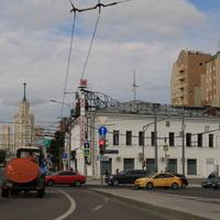 Верхняя Радищевская улица, театр на Таганке