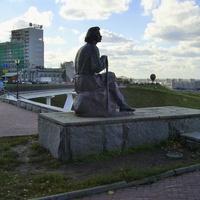 Набережная Федоровского - Памятник М. Горькому