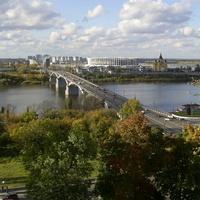 Н. Новгород - Река Ока - Канавинский мост