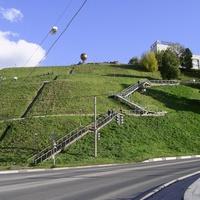 Благовещенская площадь - Лестница
