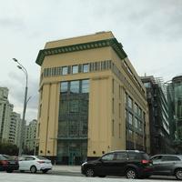 Бизнес-центр Эрмитаж Плаза на месте завода Тизприбор