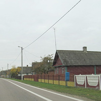 Улица деревни Деньковцы