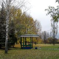 """Осень в городе. Парк """"Юбилеиный"""""""