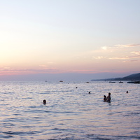 Чёрное море, закат