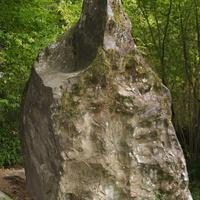 Лунный камень (менгир?). Свирское ущелье