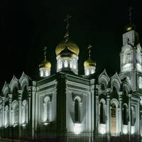 Никольский храм села Середниково после реконструкции