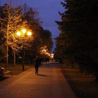Белгород. Свято-Троицкий бульвар.
