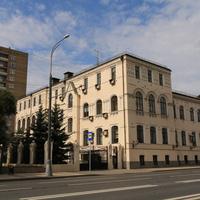 Здание бывшего Московского общества призрения