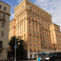 Дом построен для Министерства угольной промышленности СССР в 1953 году