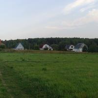 Вид на деревню с поля