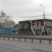 Угол Выборгского шоссе и ул. Ломоносова, посёлок Парголово