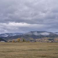 Вид на Каменск со стороны железной дороги