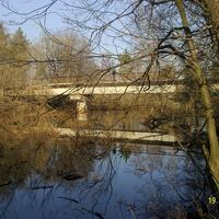 Ж/Д мост через р. Поля в селе Кривандино