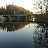Автомобильный мост через р. Поля у деревни Никитинская