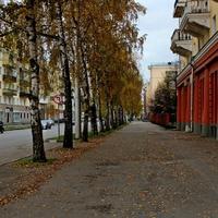 Золотая осень в Новокузнецке