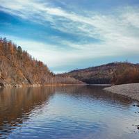 Река Черная вблизи поселка Сбега