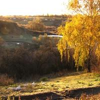 Осеннее утро в Скородном.