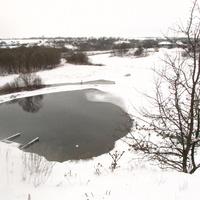 Темный ключ зимой в Скородном.